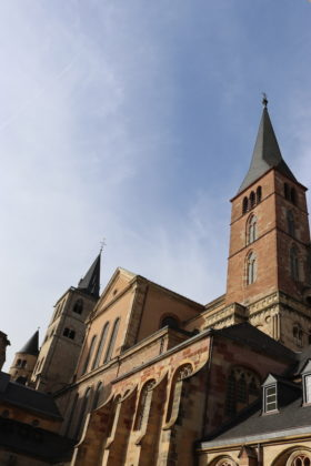 Domgarten - Trier - Innenanlage
