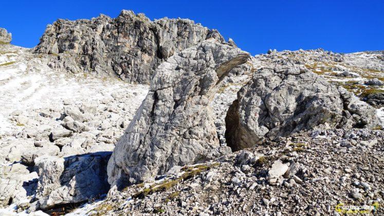 Hindelanger Klettersteig von Höfratsblick auf dem Weg zum Nebelhorn