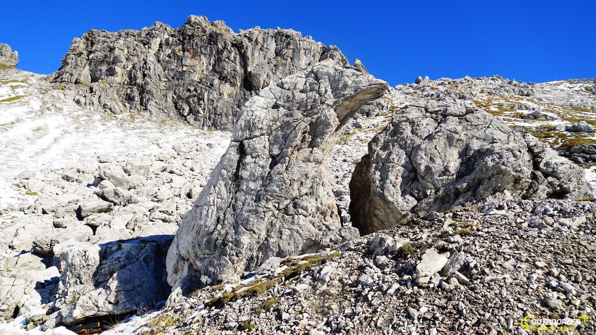 Klettersteig Nebelhorn : Frstgr hindelanger klettersteig