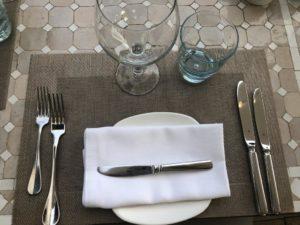 La Gourmeda - Port Andratx - Eingedeckter Tisch