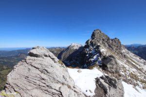 Oberstdorf Nebelhorn - Einstieg zum Hindelanger Klettersteig