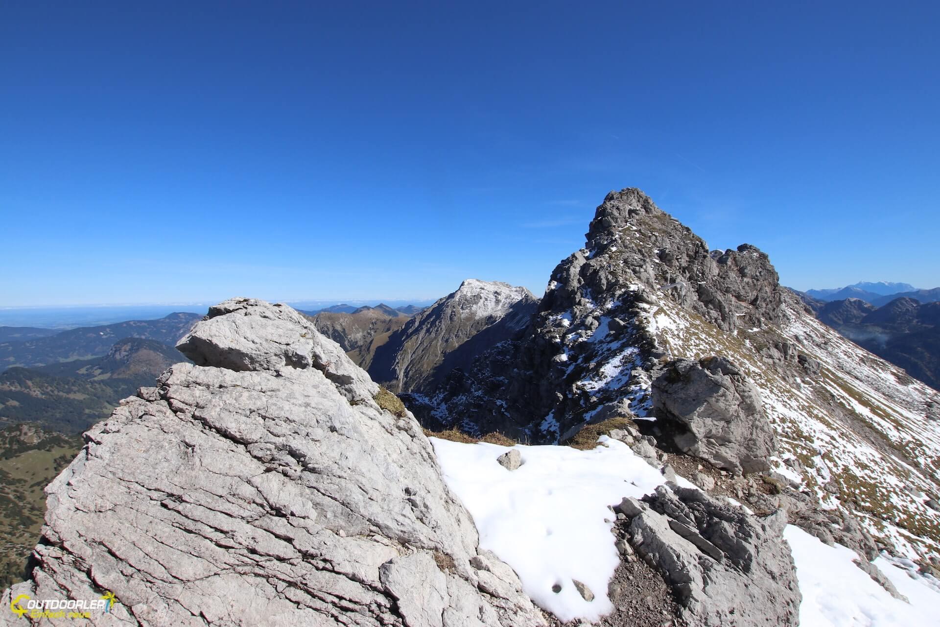 Klettersteig Oberstdorf : Wanderung zum nebelhorn von oberstdorf aufs wandern