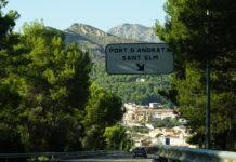 Port Andratx - Anfahrt und Parkplatz