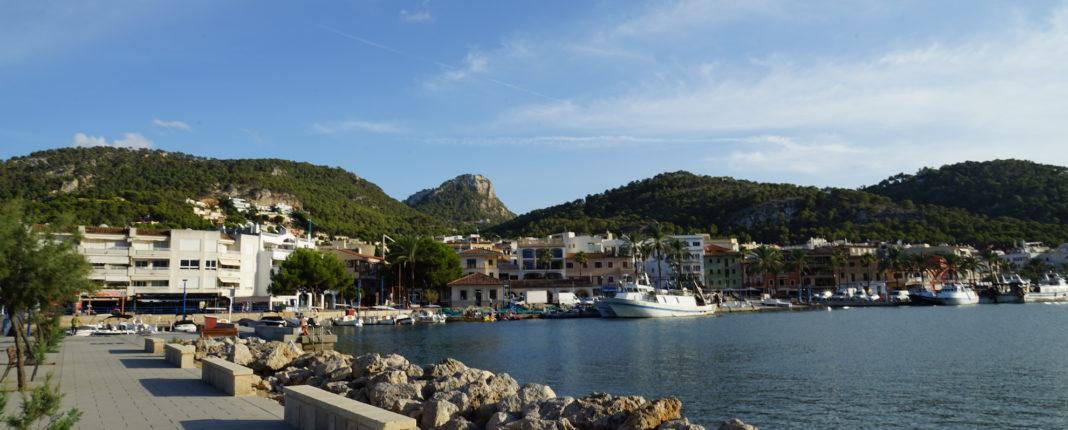 Port Andratx - Hafen bei Tag