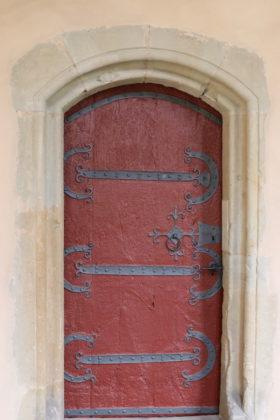 Rote Tür - geschlossen - Trier