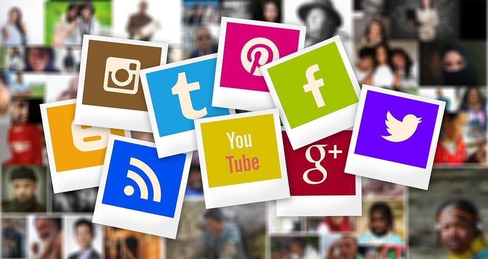 Smartphone - zum schnellen Teilen von Fotos in sozialen Netzwerken
