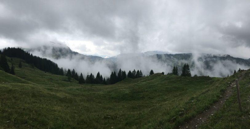 Wandern von Grasgehren Hörnle Alpe zur oberen Mittelalpe